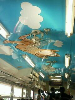 ネズミ男電車