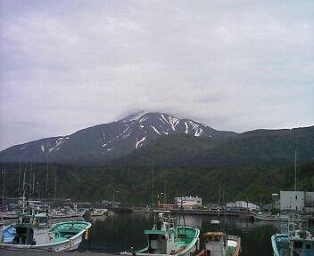 利尻島は、なんとか完走